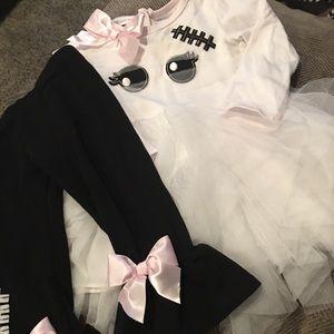 Bonnie Jean Ghost outfit. 2T. EUC.